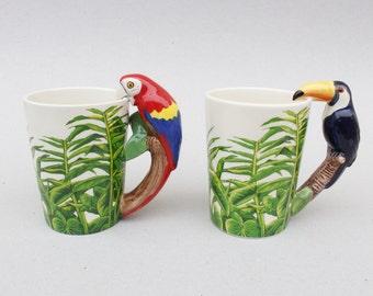 Ceramic Bird Mug