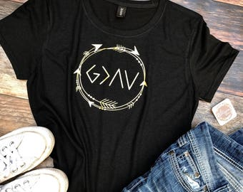 God is Greater Than The Highs and The Lows - Women's Christian shirts - Christian apparel - Christmas gift - Christian - Women's T-shirt