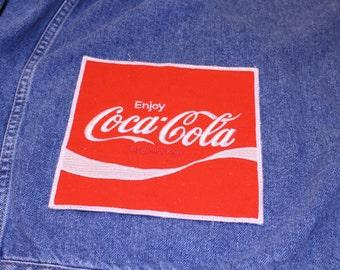 Coca Cola - Vintage Patch - Large