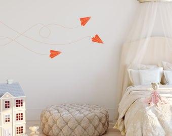 Paper Planes Wall Sticker