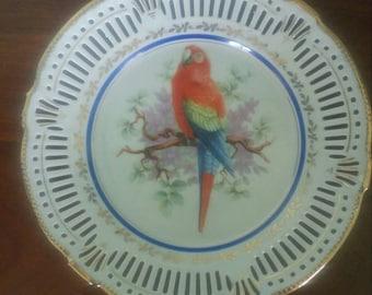 Vintage Schwarzenhammer Bavaria Germany Decorative Plate