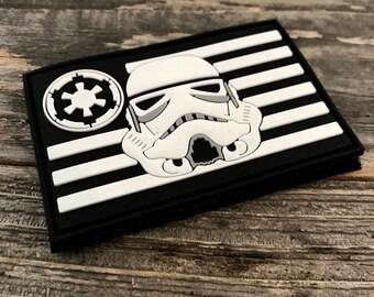 Stormtrooper Flag Series 3D PVC Morale Patch