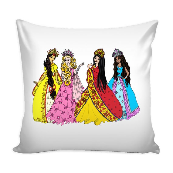 Pillow Cover - Standing Princesses