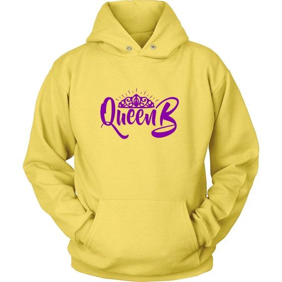 Queen B In The Making Purple Unisex Hoodie Best Gift Idea