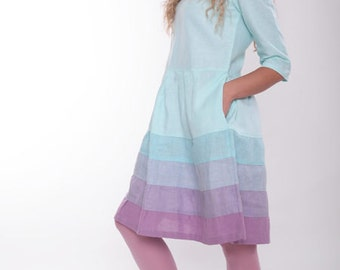 Linen Short Dress
