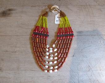 Vintage Handmade Nagaland necklace