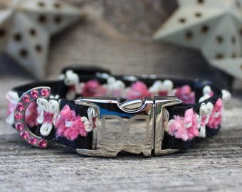 Coco Pink Dog Collars and Leashes