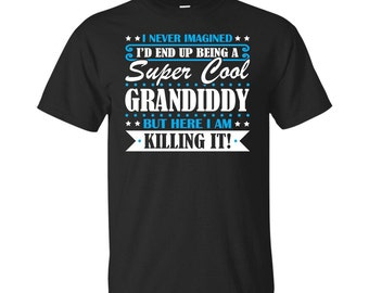 Grandiddy, Grandiddy Gifts, Grandiddy Shirt, Super Cool Grandiddy, Gifts For Grandiddy, Grandiddy Tshirt