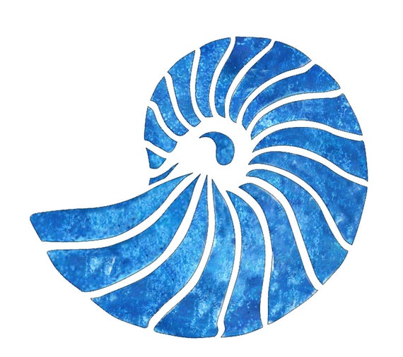 Nautilus Shell Stencil From Branditlaserworks On Etsy Studio