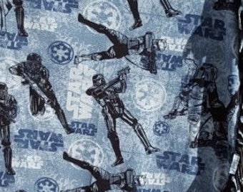 READY TO SHIP Star Wars Rogue One Knotted Fleece Throw with Antipill Backing
