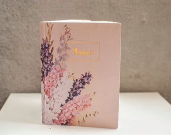2018 Planner with dates Hyacinths Planner 2018 Weekly Planner Agenda Monthly Calendar Daily planner Soft covers, Gift idea Stationary Diary