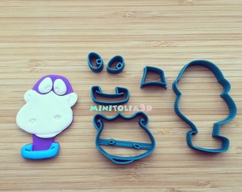 Dino Face Cookie Cutter Set