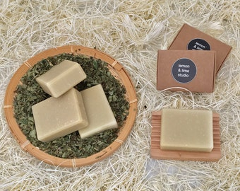 Handmade Natural Olive Oil Soap - Patchouli essential oil