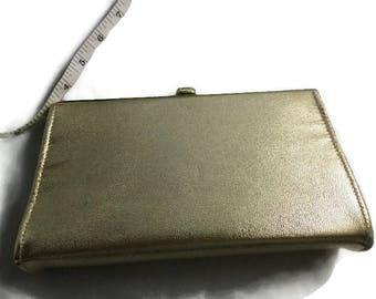 Vintage Gold Lame Handbag