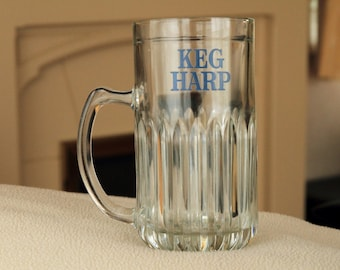 KEG HARP - One Pint Glass Tankard