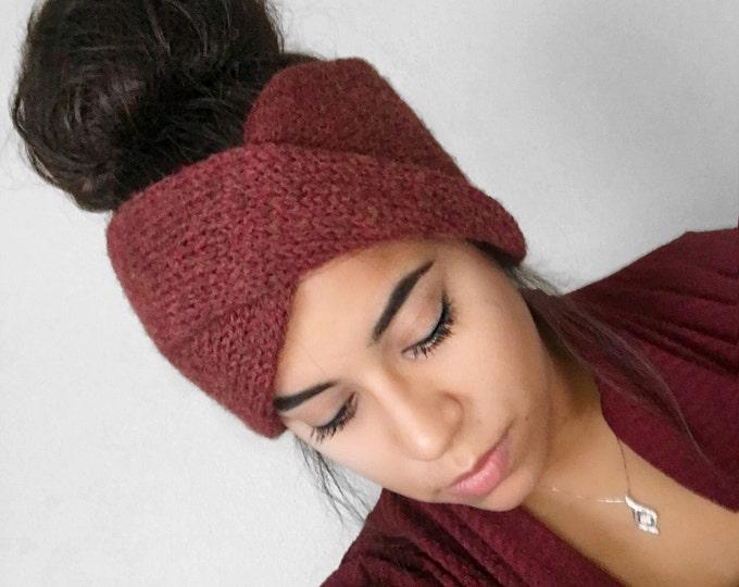 Knit Earwarmer // Knit Turban // Double Knit