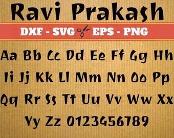 SVG fonts Ravi Prakash Script Monogram Svg Font; Svg, Dxf, Eps, Png; Calligraphy Script, Cursive Svg Font, fonts for cricut, dxf fonts,