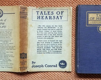Tales of Hearsay (1925) by Joseph Conrad 1st Edition