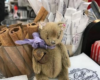 Teddy bear friend Blythe doll ooak