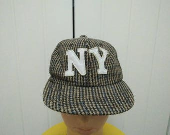 Rare Vintage NY | New York Cap Hat Free size fit all