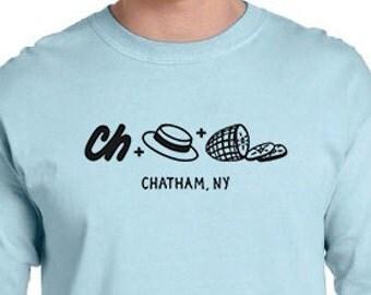 Rebus Puzzle T-shirt - Chatham, NY