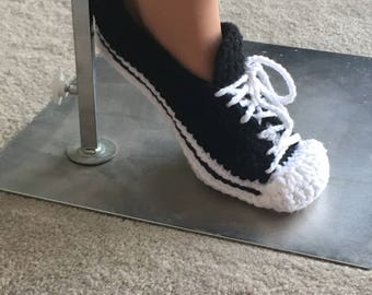 "Yarn ""Chucks"" Slippers"