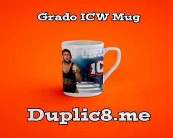 ICW wrestler mug