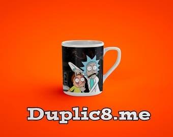 Custom Rick And Morty - Ricks Garage mug