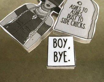 Beyonce Boy Bye Ashes to Ashes Dust to Side Chicks Sticker Pack