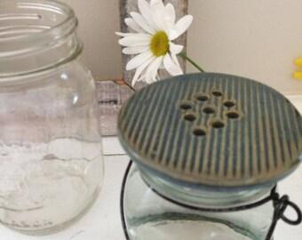 Mason Jar Flower Toppers