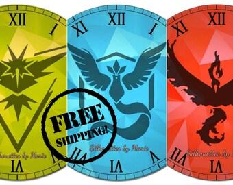 Pokemon Go Team Clock