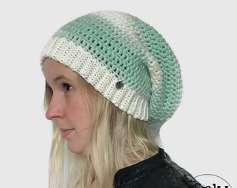 The 'The Grass is Always Greener on the Other Side' Slouchy Beanie