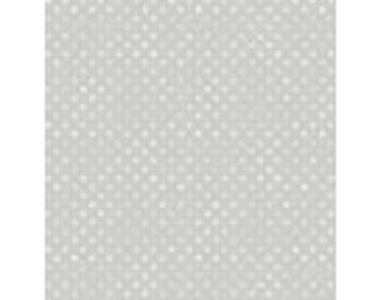 Dotsy Light Grey Essentials Collection by Jennifer Pugh Licensed for Wilmington Prints #1828 82455 901 100% Cotton