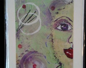Large Art Print Card