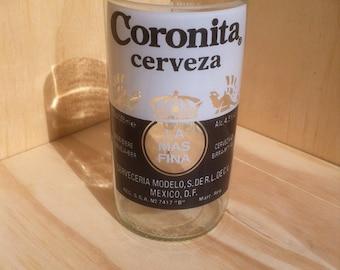 Recycled Beer Bottle Coronita Glass