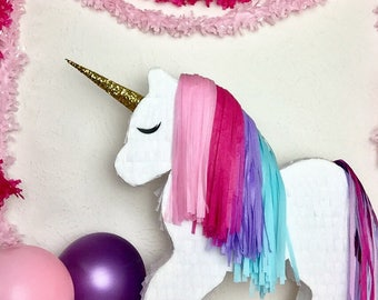 Custom Decorative Unicorn Piñata