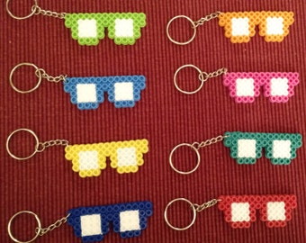 Sunglasses party pack - Set of 8 keychains