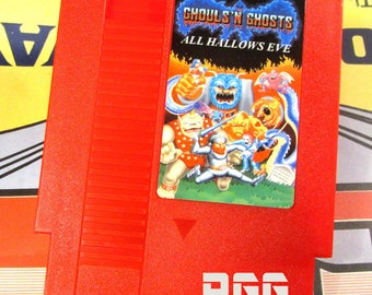 NES Ghouls 'N Ghosts All Hallows Eve FanMAde Game