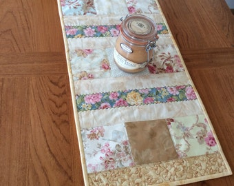 Patchwork Floral Table Runner