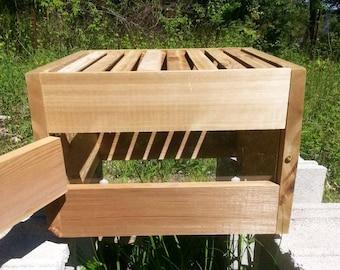 Warre Hive Box (with window and 8 topbars) *AOKA Farm*