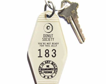 Donut Society Key Tag