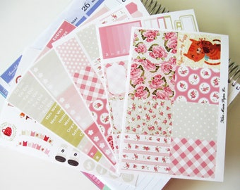 Planner Stickers - Tea Roses