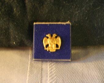 Scottish Rite Freemasonry Button - Free Shipping