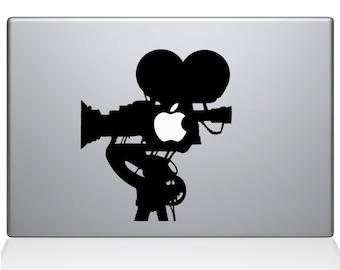 Film Camera Macbook Decal Macbook Vinyl Decal For Macbook Apple Laptop Sticker