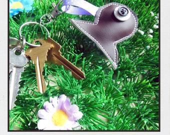 Chocolate fish key chain