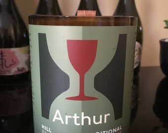 Hill Farmstead Arthur Craft Beer Soy Candle