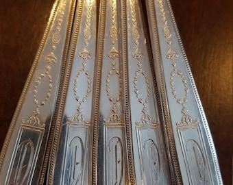 1921 Grosvenor Silverplate Teaspoons by Community Mono D Qty. 12