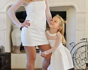 "Dress ""White Fairytale"", ""SALZARRA MUMMY & ME"" series"