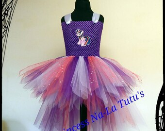 Twilight Sparkle Tutu Dress - MLP Outfit - Purple Tutu Dress - Twilight Sparkle Costum - Purple Dress - My Little Pony Tutu - Star Dress