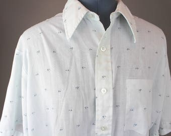 70's Paper Thin Men's Button-Down